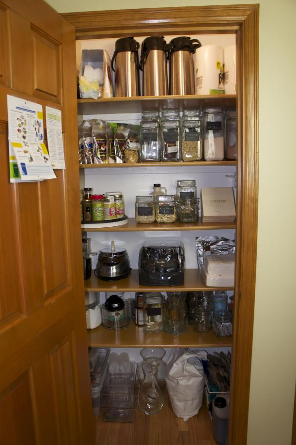 Pantry Closet - After
