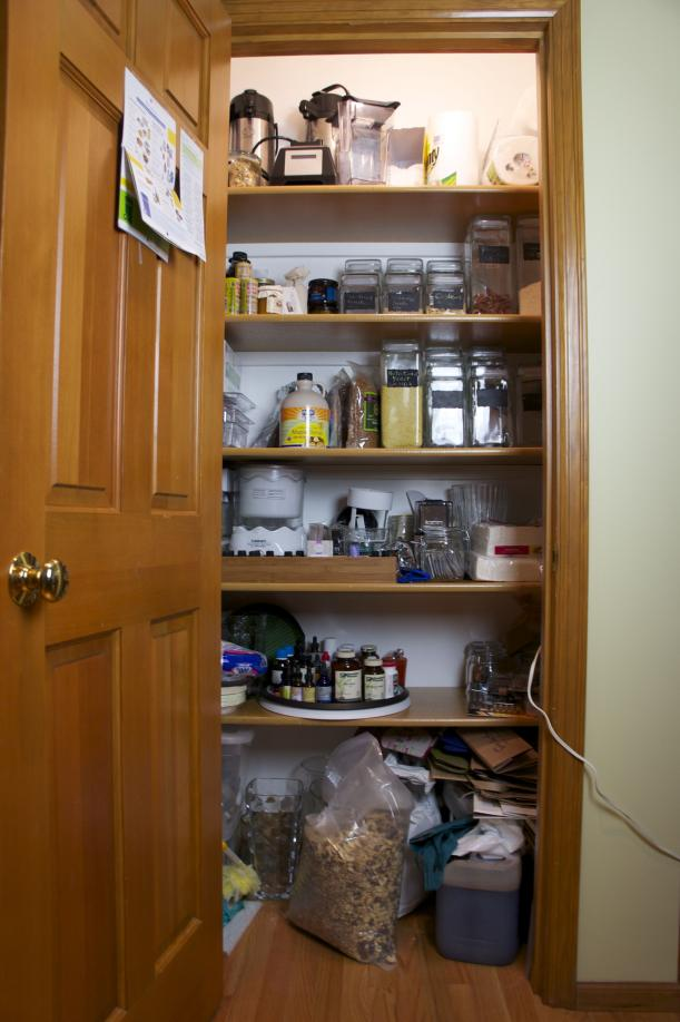 Pantry Closet - Before